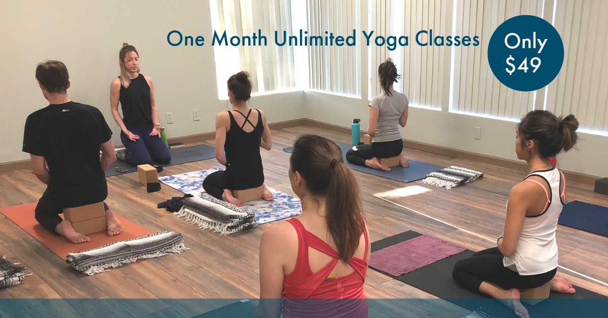 Unlimited Yoga 1 Month $49