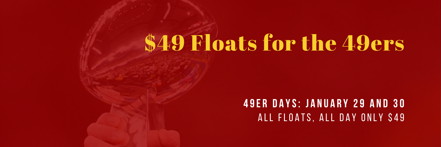 $49 Floats for SF 49ers