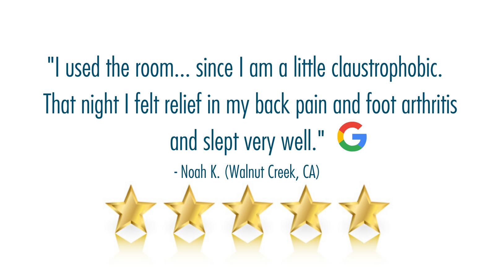5-star review Walnut Creek