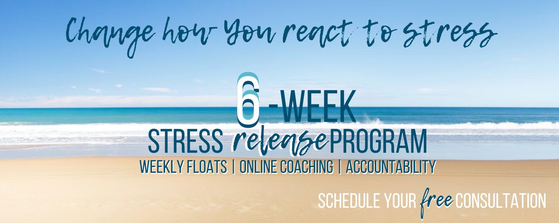 6-week stress release program